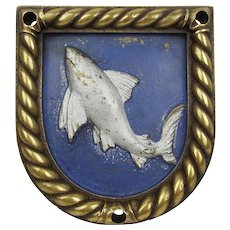 HMS Shark Boat Badge 1918