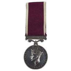 George VI Long Service Good Conduct Medal To 7536002 SJT W.S. Lee A.D. Corps