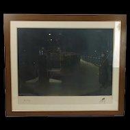 Signed Sir John Lavery Print (1856-1941)