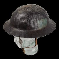 WW1 1st Pattern 4th Canadian Division Brodie Helmet c1917