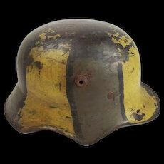 WW1 M18 Cut-Out Stahlhelm Helmet