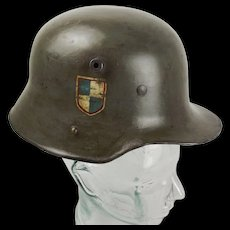 WW1 M1916 Single Decal Stahlhelm German Helmet