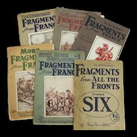 Bruce Bairnsfather Fragments From France Set Of Six Magazines