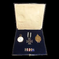 WW1 German Imperial Navy Awards Set