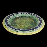 Victorian Majolica Table Serving Platter