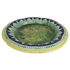 Victorian Majolica Table Serving Platter