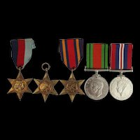 World War Two Medal Set - Unnamed