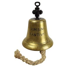 HMS Tantivy 1942 T-Class Submarine Bell