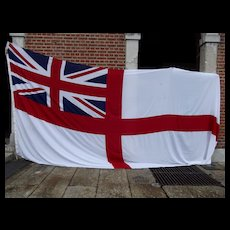 Invincible Class Aircraft Carrier White Ensign Flag