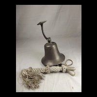 Late 19th century Royal Navy Bell and clapper