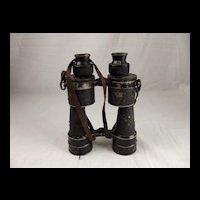 WW2 Kriegsmarine Binoculars - Huet Paris DF 10X50