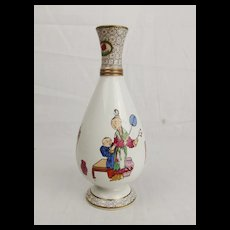 c1810 Small Chinoiserie Vase Possibly Staffordshire