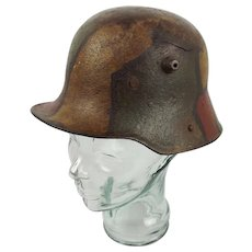 WW1 Imperial German Camo Stahlhelm 1916