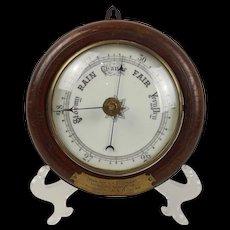 HMS Conway School Ship Barometer - School Prize c1921