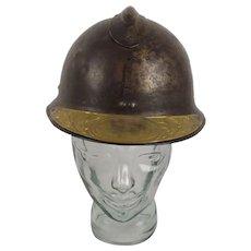 WW1 French Soldier Adrian Helmet