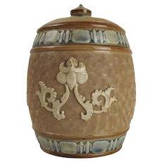 c1900 Royal Doulton Tobacco Jar
