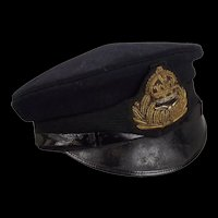 WW1 Royal Naval Air Service Officers Dress Cap #2