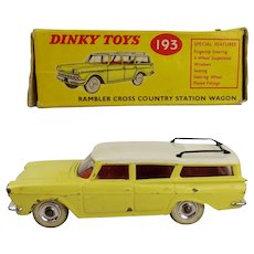 Dinky 193 Rambler Cross Country Station Wagon - Boxed