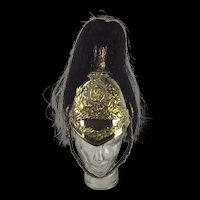 Victorian North Somerset Yeomanry Cavalry Dress Helmet