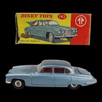 Dinky 142 Jaguar Mark X - Boxed