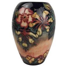 Moorcroft Oberon Pattern Vase