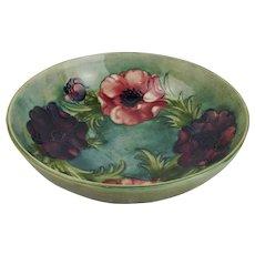Moorcroft Anemone Pattern Bowl