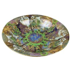 Wedgwood Fairyland Lustre Garden Of Paradise Lily Bowl c1920's