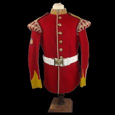 WW2 Hampshire Regiment Drummer's Tunic