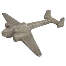 WW2 Hand-Crafted Aluminium Model Of A Handley Page Hampden