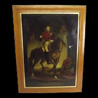 c1840 King George IV Chromolithograph