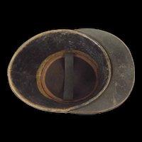 ~ Early 20th Century WW1  French M1872 Military School Shako #1 ~
