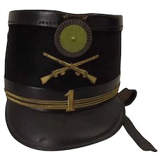 Early 20th Century French M1872 Military Shako #2