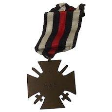 WW1 German Honour Cross With Swords 1914-1918 Medal