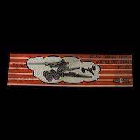 Boxed Mint Crescent Toys 155m/m Long Tom Artillery Gun No. 155