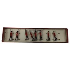 Britains Toy Soldiers The Duke Of Cambridge's Own Set No. 76 From The 1930's