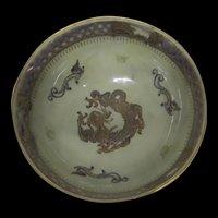 Wedgwood Lustre Dragon Bowl Designed By Daisy Makeig-Jones