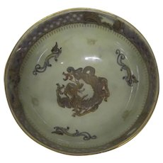 Wedgwood Lustre Dragon Bowl Designed By Daisy Makeig-Jones
