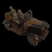 Tipp & Co. Tinplate Clockwork German Army Kúbelwagen 1936-40