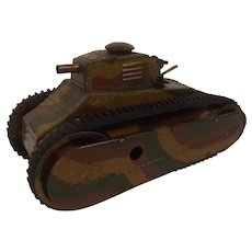 Pre-WW2 Marklin Tinplate Clockwork Tank