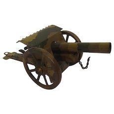 WW1 Tinplate Field Gun By Marklin