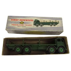 Dinky Toys 905 Foden Flat Truck With Chains