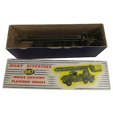 Dinky Toys 667 Missile Servicing Vehicle