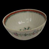 Circa 1760/90 New Hall Porcelain Sugar Bowl