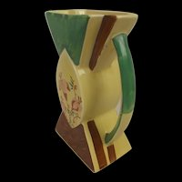 Myott, Son & Co. Art Deco Bowtie Vase