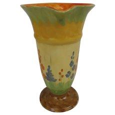 Myott, Son & Co. Art Deco Trumpet Vase