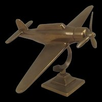 Rare Wartime Brass Model Of The Japanese WW2 Torpedo Bomber Nakajima B5N