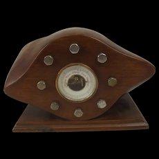 WW1 Trench Art Propeller Boss Barometer