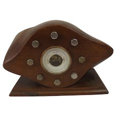 WW1 Trench Art Propeller Boss Barometer