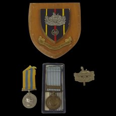 Korean War Medal Pair To Private Shapter Of The Gloucester Regiment