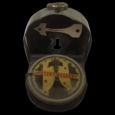 WW2 German Military Marching Compass With Bakelite Base By Bezard